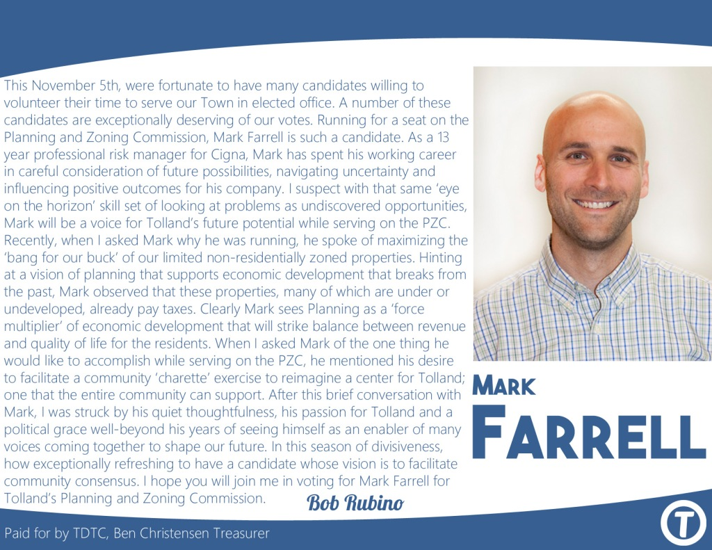 Endorsement for Mark Farrell